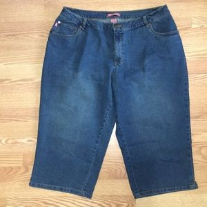 Woman Within Natural Fit Capri's Size 20W NWOT